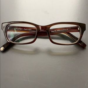 WARBY PARKER zag glasses